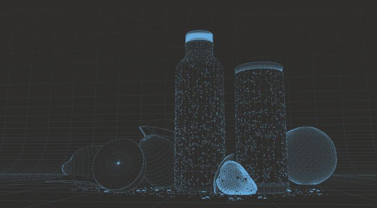 technische Produkt Visualisierung