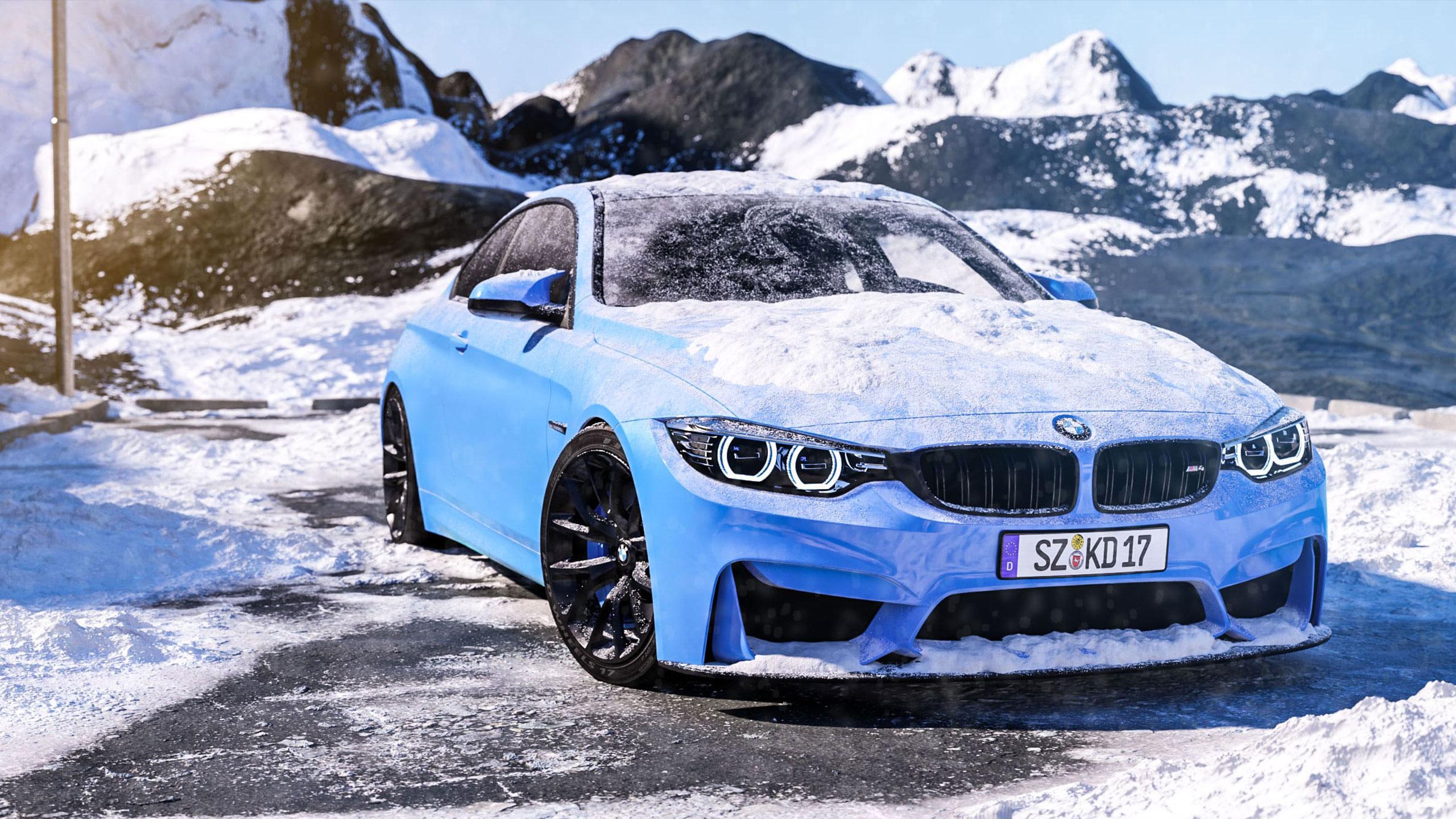 BMW M4 3d render