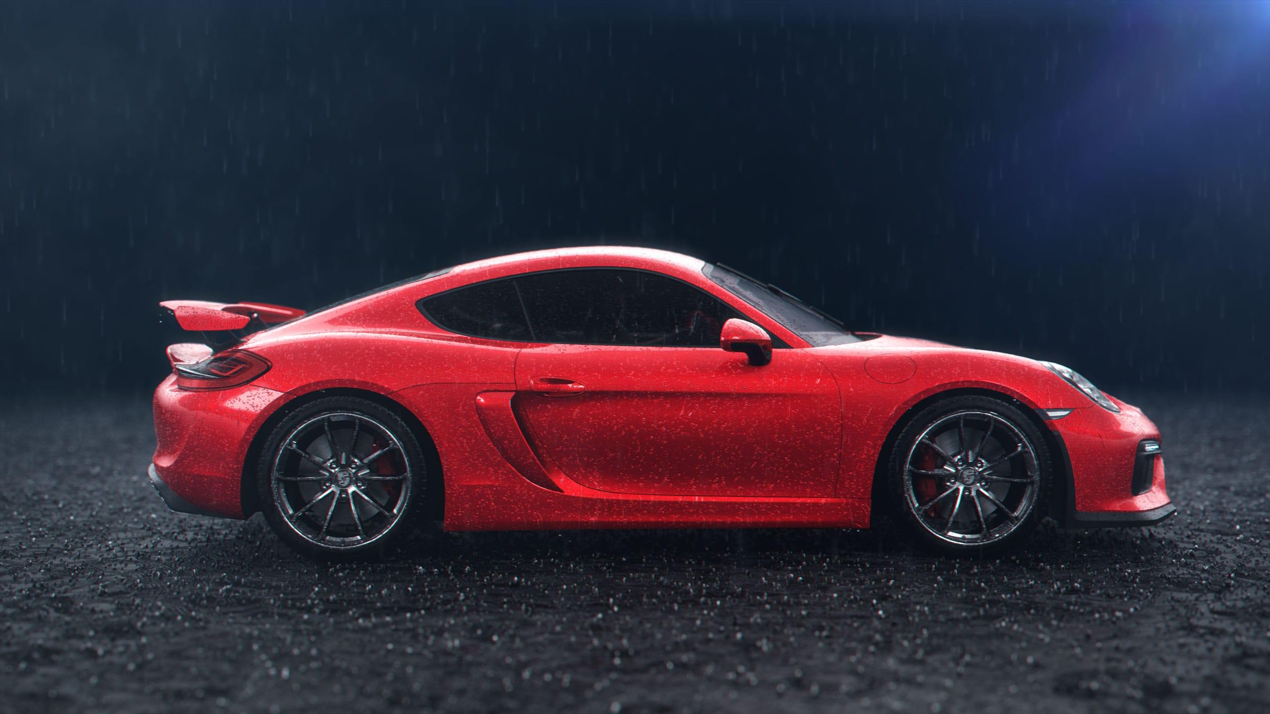Porsche 3D Visualisierung